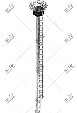 نقشه برج نور ثابت
