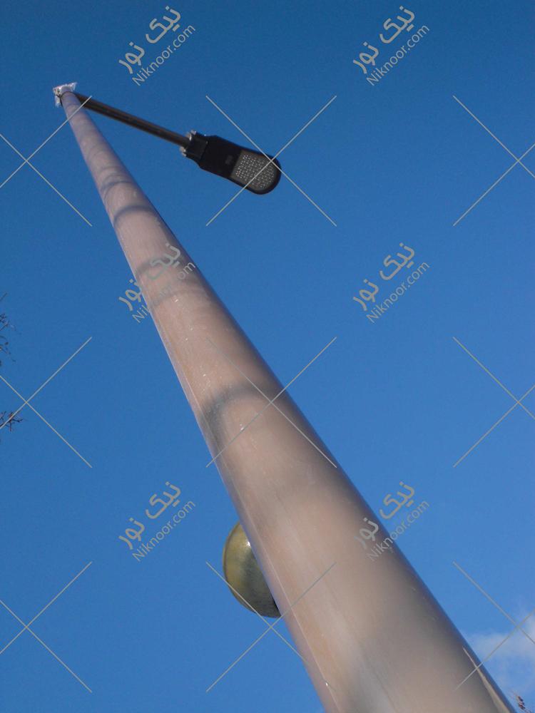 پایه روشنایی لوله ای