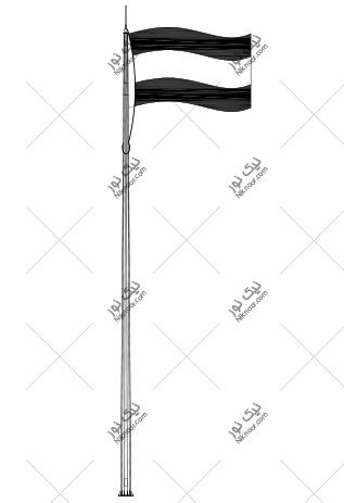 نقشه پایه پرچم