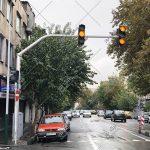 پایه چراغ ترافیکی