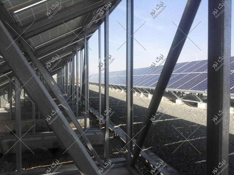 استراکچر پنل خورشیدی