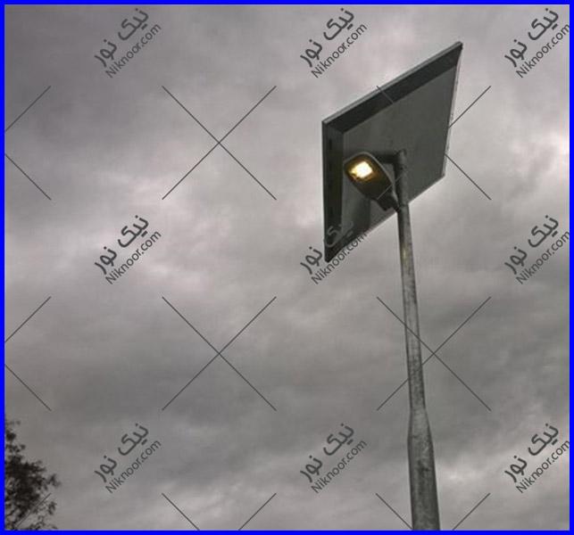 پایه روشنایی خورشیدی