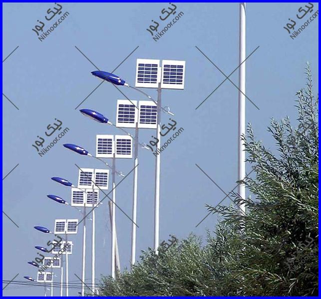 پایه چراغ خورشیدی