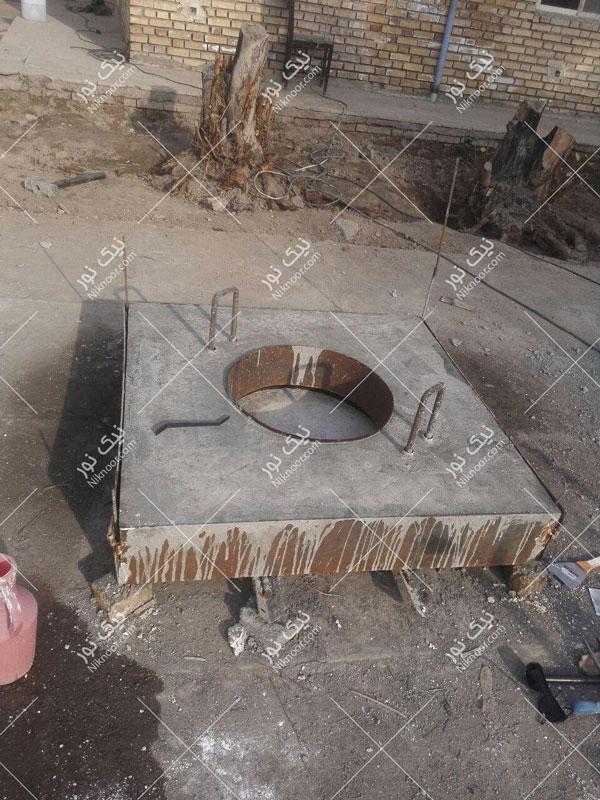 سازه منهول فلزی